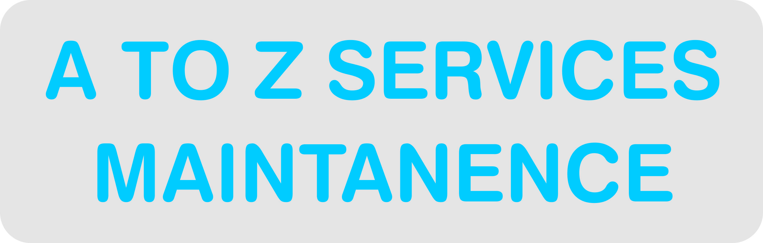 A To Z Services Maintenance