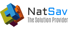 Natsav The Solution Provider logo