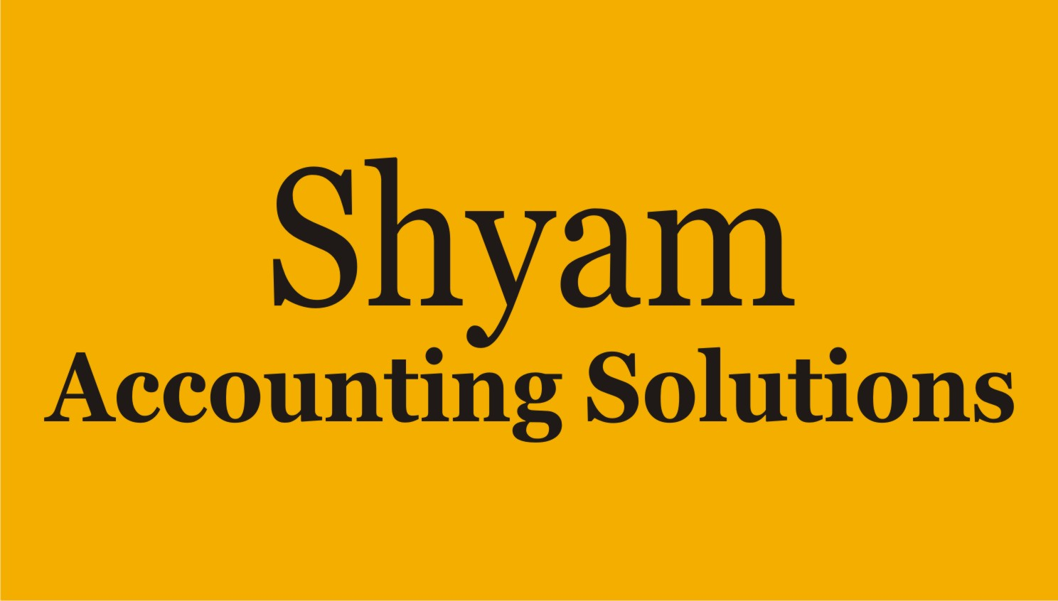 Shyam Accouting Solutions