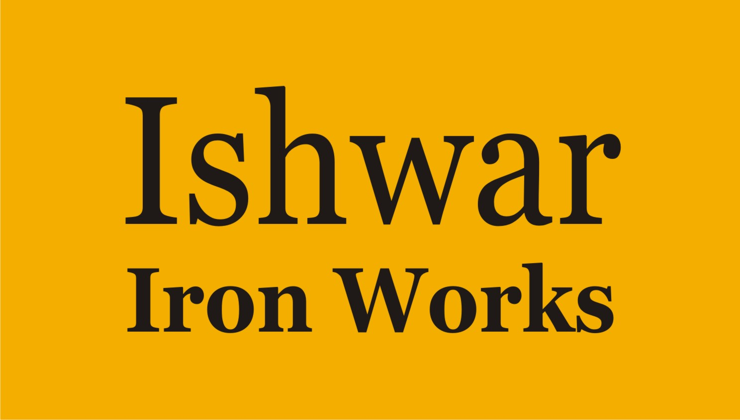 Ishwar Iron Works
